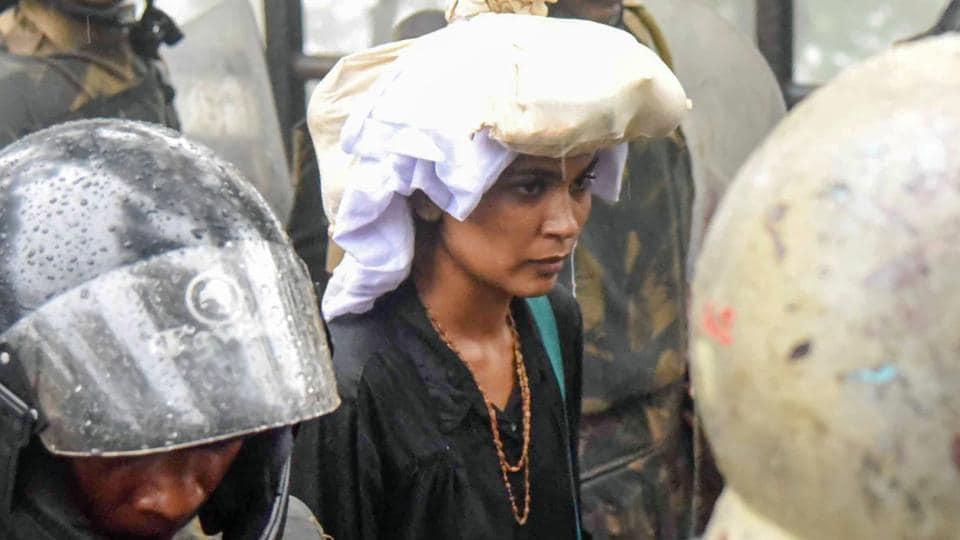 Activist Rehana Fathima
