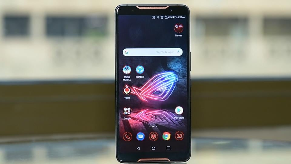 Asus ROGPhone features a 6-inch AMOLEDdisplay with 18:9 aspect ratio.