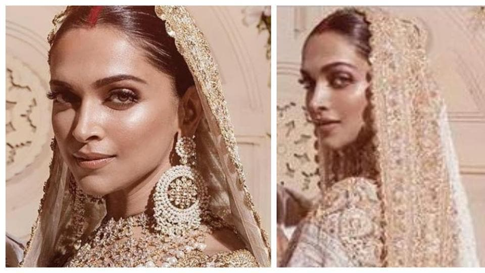 Deepika's Mumbai reception look stood out in ivory and ...