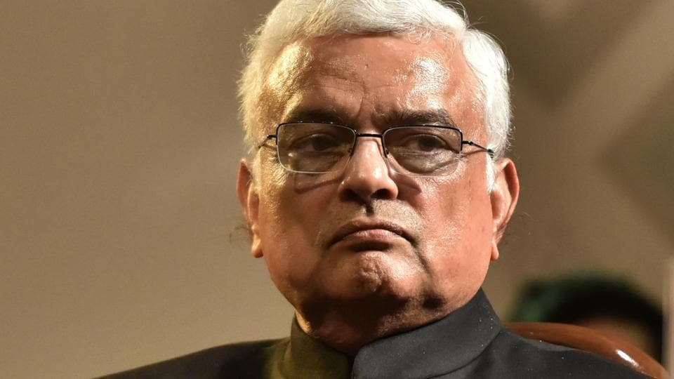 File photo of outgoing chief election commissioner OP Rawat. His tenure ends on December 2.
