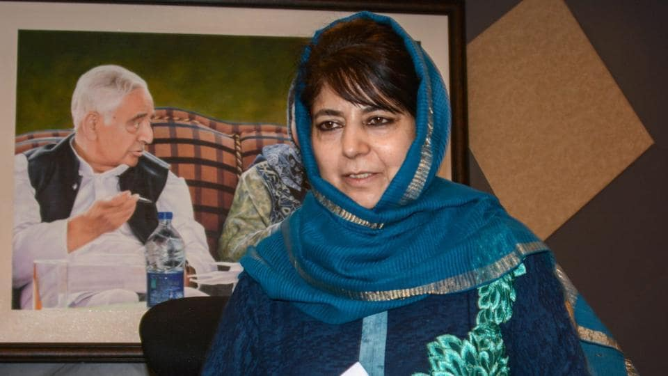 Mehbooba Mufti said her party is sure that Imran Khan's offer will elicit a positive response from the Indian government.
