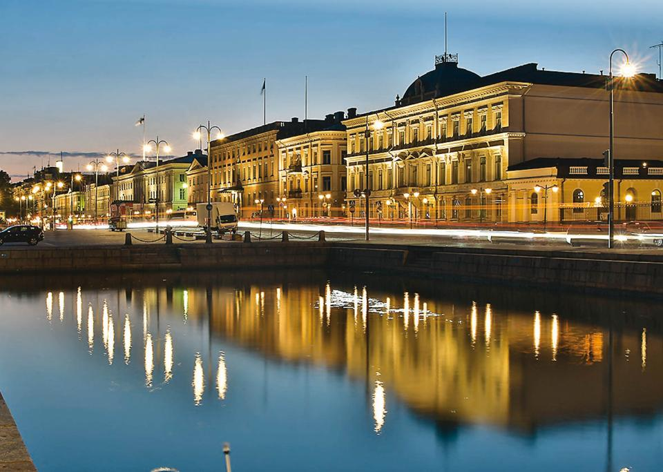The market square, facing the harbour, is one of the most popular areas in Helsinki