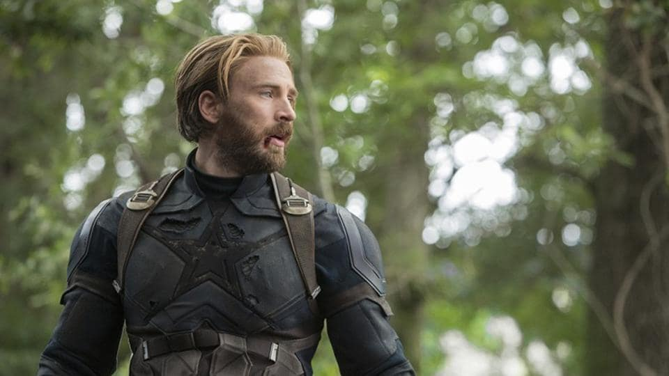 Chris Evans has played Captain America in five Marvel movies.
