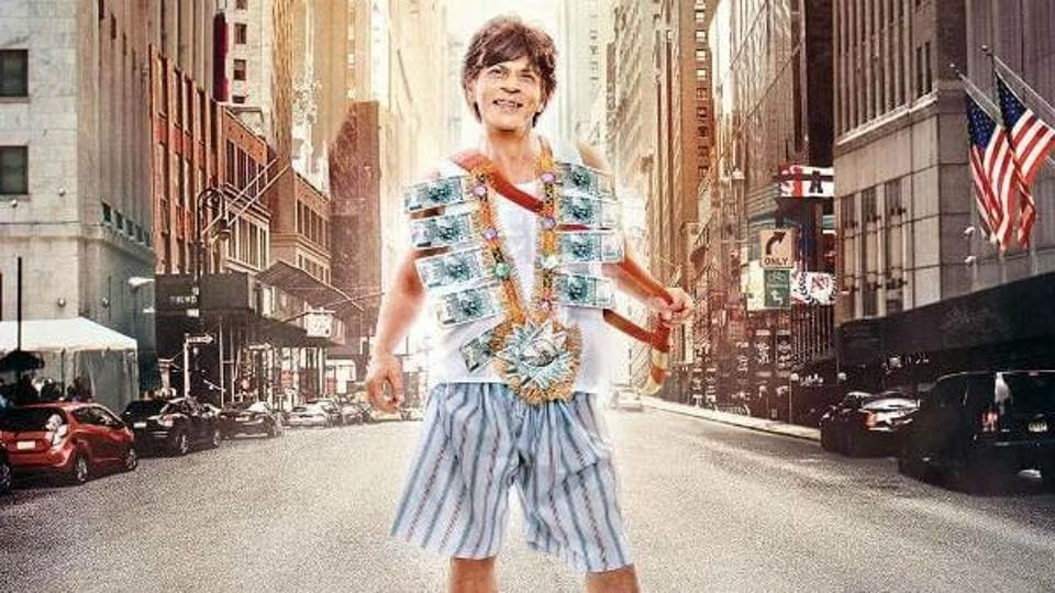 Shah Rukh Khan's Zero is facing legal trouble over having the actor hold a 'kirpan' in the film's poster and trailer.