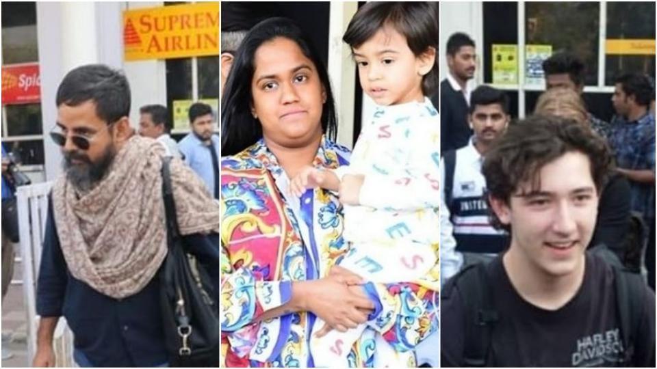 Priyanka Chopra,Nick Jonas,Arpita Khan