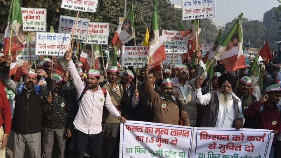Farmers march in Delhi,Farmers march today,Delhi news