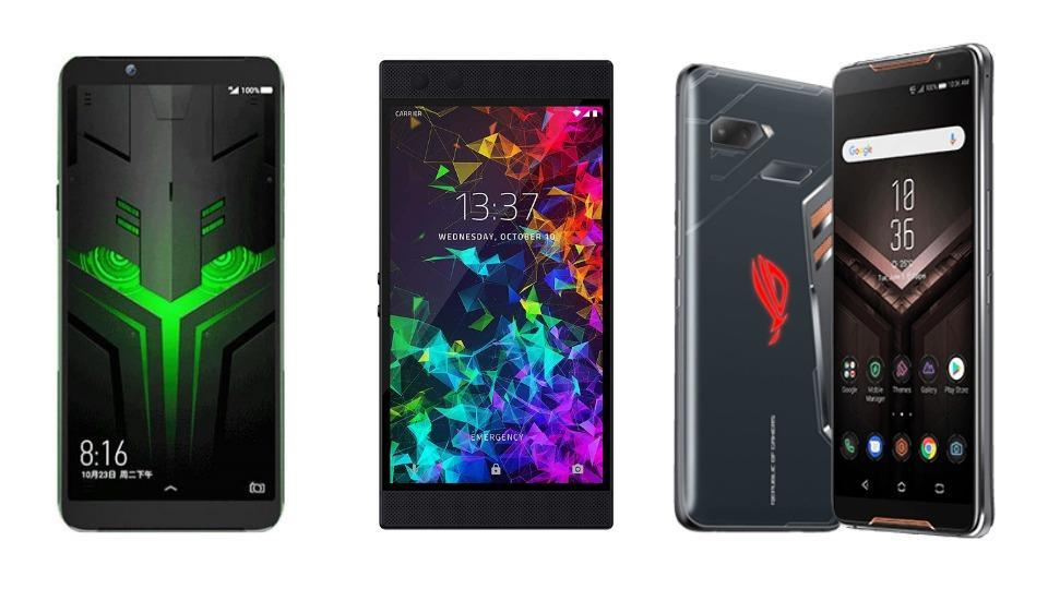 Comparison of top gaming smartphones in the world.