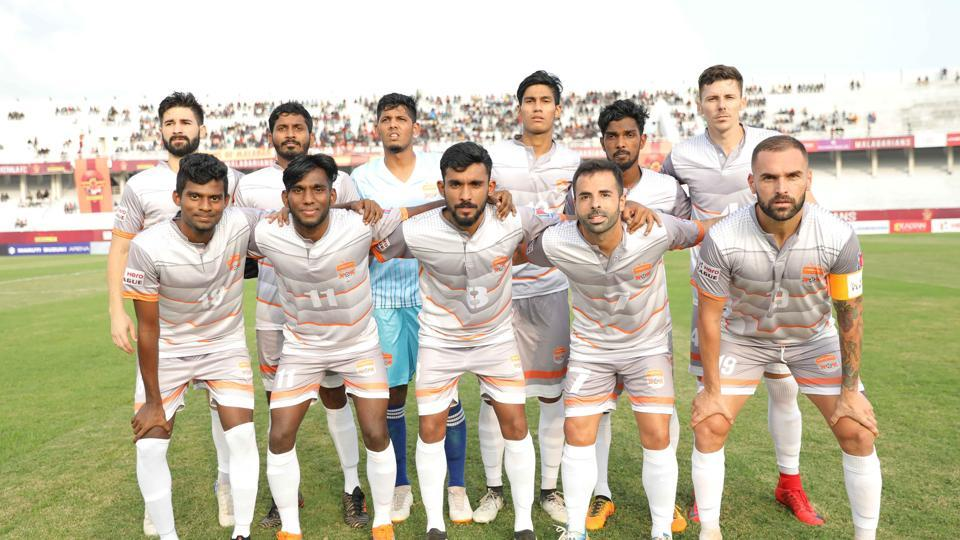 Chennai City are top of the I-League table with 16 points from 16 games.