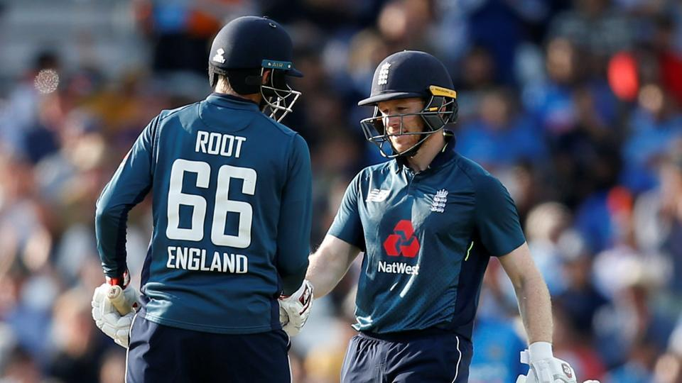 File image of England ODI skipper Eoin Morgan in action during a match.