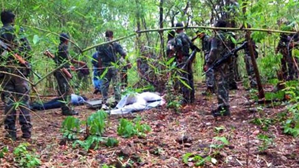 A top Maoist commander, identified as Somda, was killed in a gun battle with security forces in Sukma district of Chhattisgarh on Thursday evening, police said on Friday.