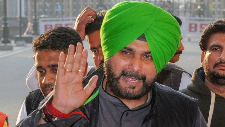 Punjab cabinet minister Navjot Singh Sidhu returns after attending the groundbreaking ceremony for the Kartarpur Corridor, at the India-Pakistan Wagah Post, Thursday, Nov. 29, 2018.