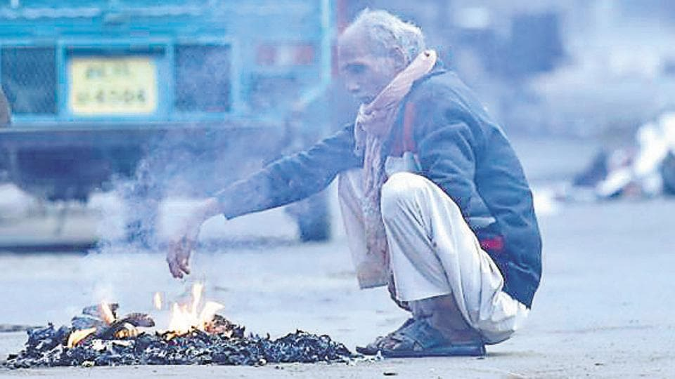 Minimum temperature in Delhi is currently two degrees above the normal.