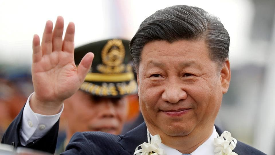 FILE PHOTO: China's President Xi Jinping has said that stability in Saudi Arabia is the cornerstone of prosperity and progress in the Gulf.