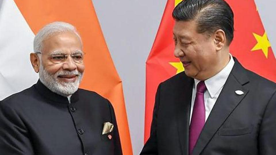 PMNarendra Modi shakes hands with Chinese President Xi Jinping on the sidelines of G-20 summit, in Buenos Aires on Friday, Nov. 30, 2018.