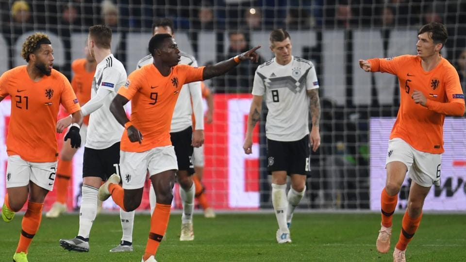 Euro 2020 Qualifying Draw Netherlands To Face Germany England Meet