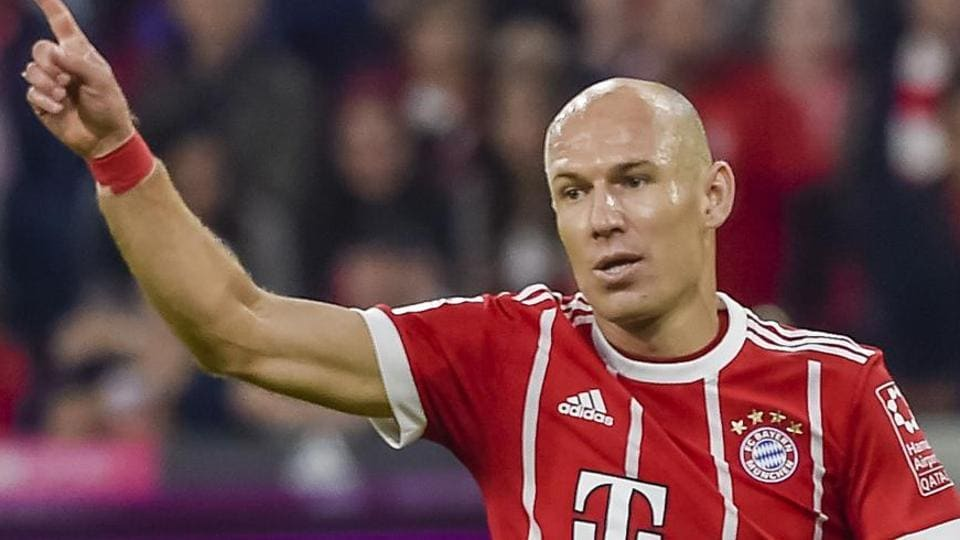 Robben to leave Bayern Munich in 2019