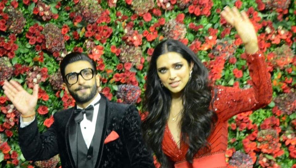 Deepika Padukone Ranveer Singh Wedding Reception From Arjun