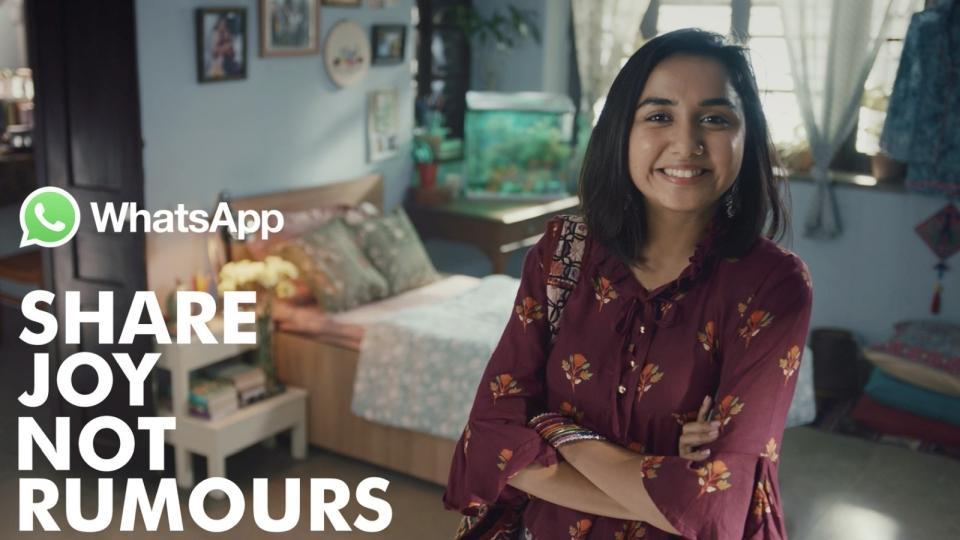 Here are the first TVcommercials launched by WhatsApp in India