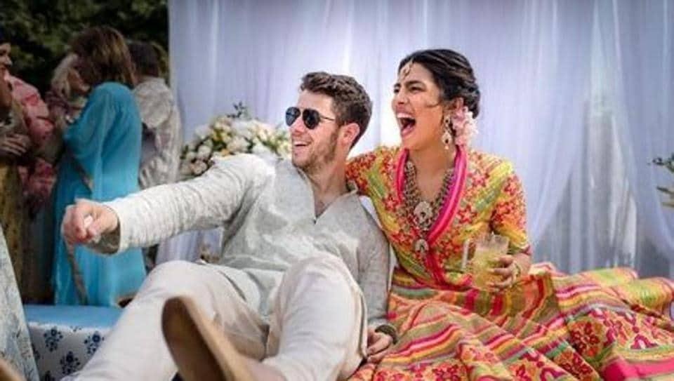 Priyanka Chopra,Mehendi,Nick Jonas