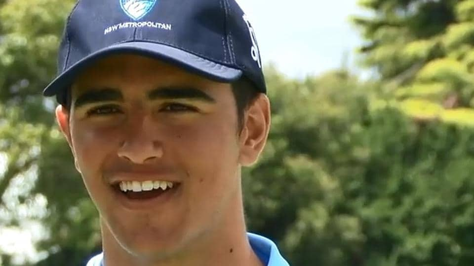 Australian Teenager Oliver Davies Smashes Six Sixes in an Over