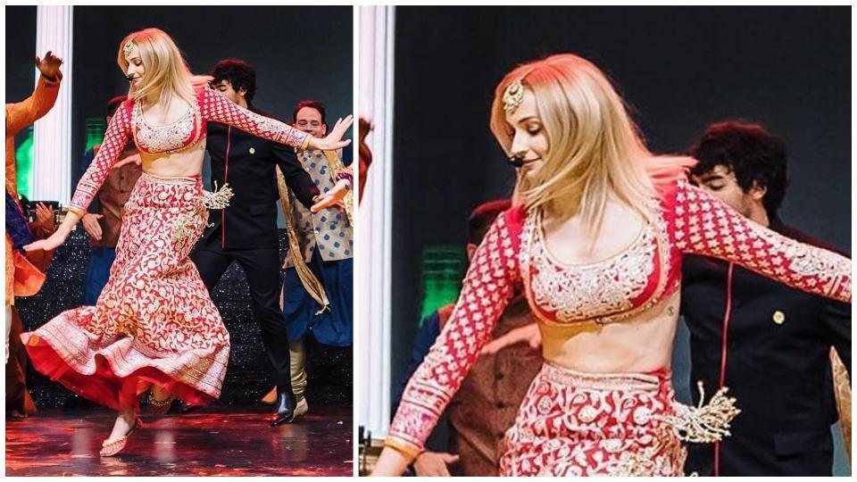 Sophie Turner,Priyanka Chopra,Nick Jonas