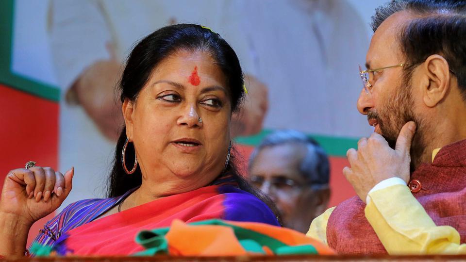 Rajasthan election 2018,Rajasthan assembly elections highlights,Vasundhara Raje