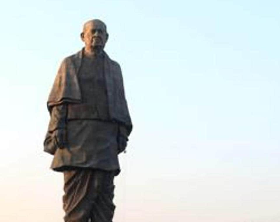 Prime Minister Narendra Modi had inaugurated an imposing 182-metre statue of the country's first Home Minister, touted as the world's tallest.