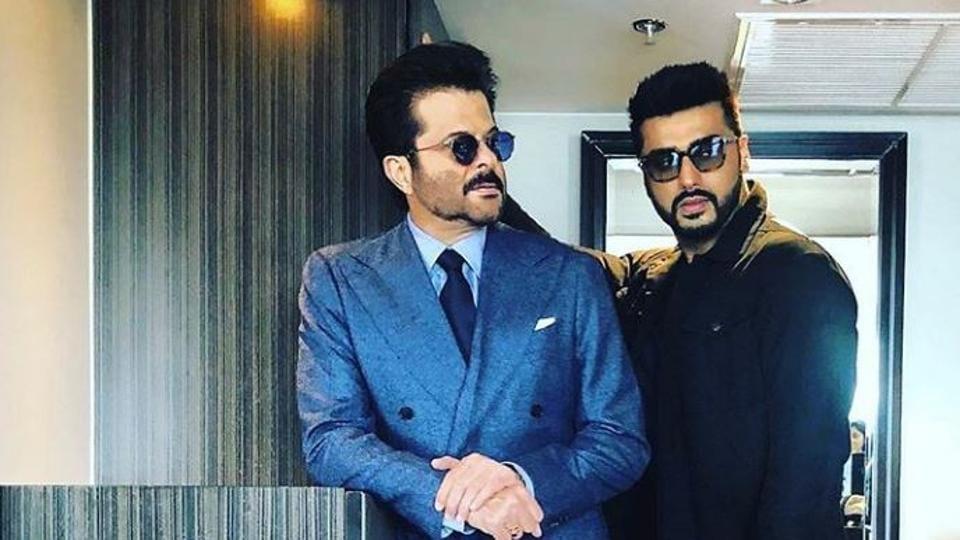 Anil Kapoor,Arjun Kapoor,Malaika Arora