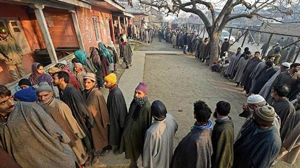 Jammu and Kashmir on Tuesday recorded an overall voter turnout of 75.3 per cent in the seventh phase of panchayat elections.