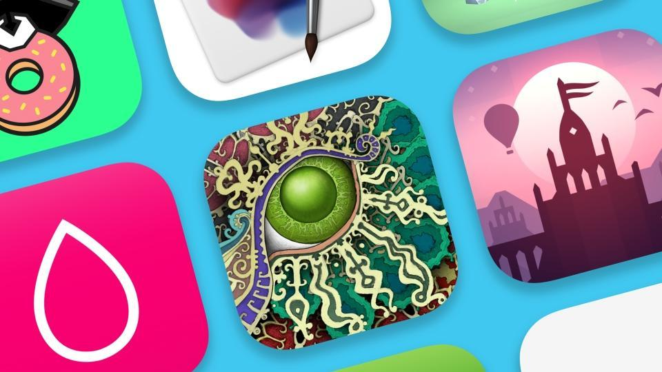 """iPhone app of the year is """"Procreate Pocket"""" while iPhone game of the year is """"Donut County""""."""