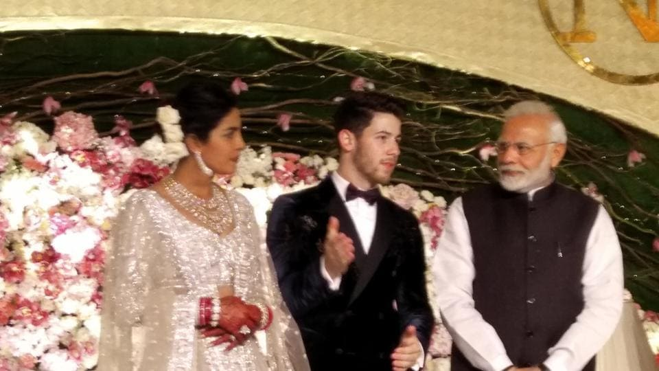 Priyanka Chopra Nick Jonas Delhi Wedding Reception Highlights