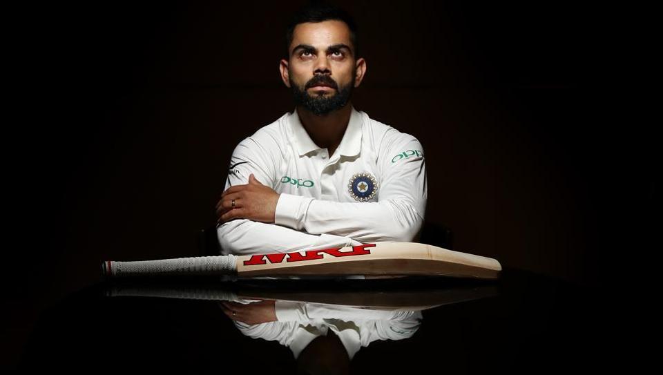 Virat Kohli of India poses during the India Test squad portrait session on December 03, 2018 in Adelaide, Australia