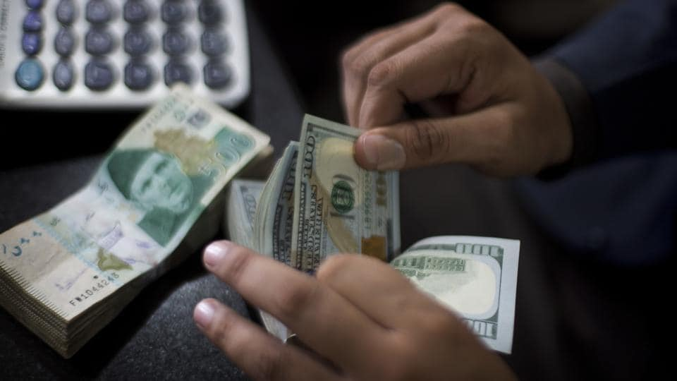 The State Bank of Pakistan weakened the rupee for the fifth time this year and raised the key interest rate.