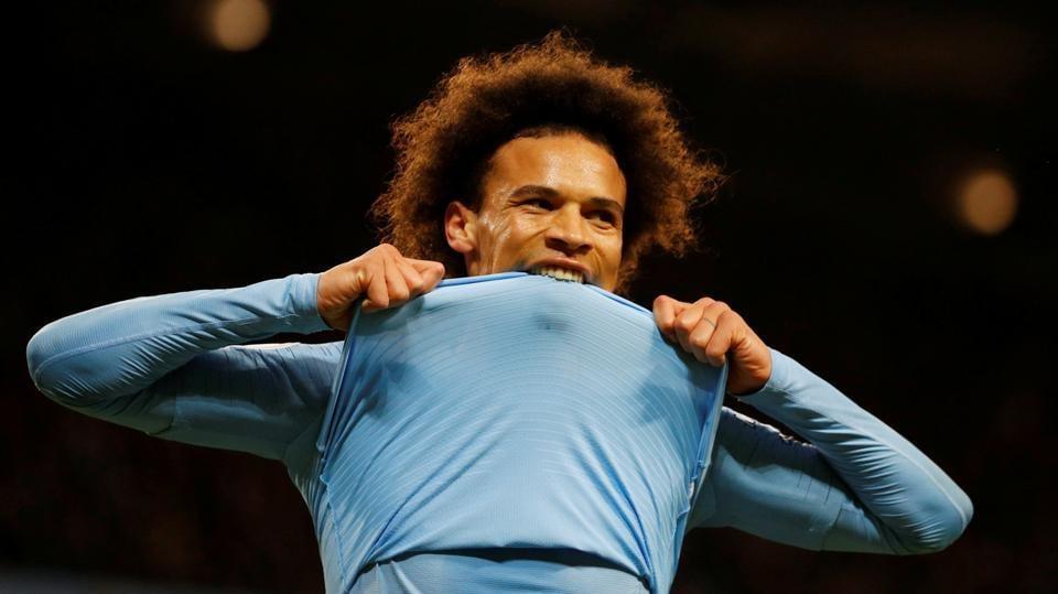 Leroy Sane,Manchester City,epl