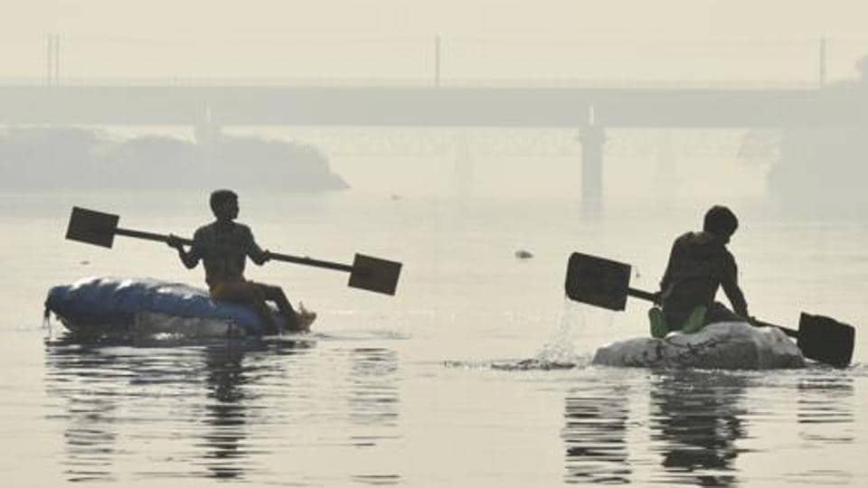 yamuna river,delhi,yamuna's ammonia level