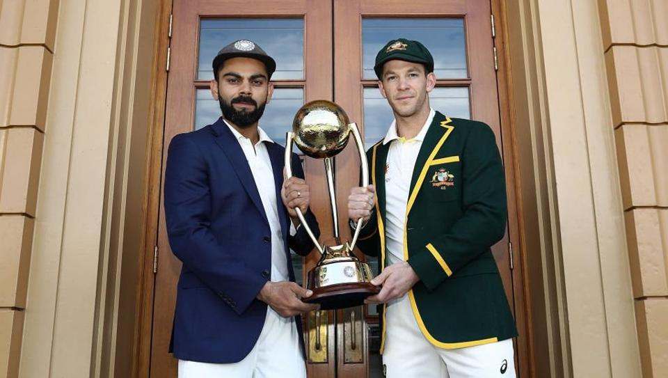 India will play Australia in the first Test at the Adelaide Oval.