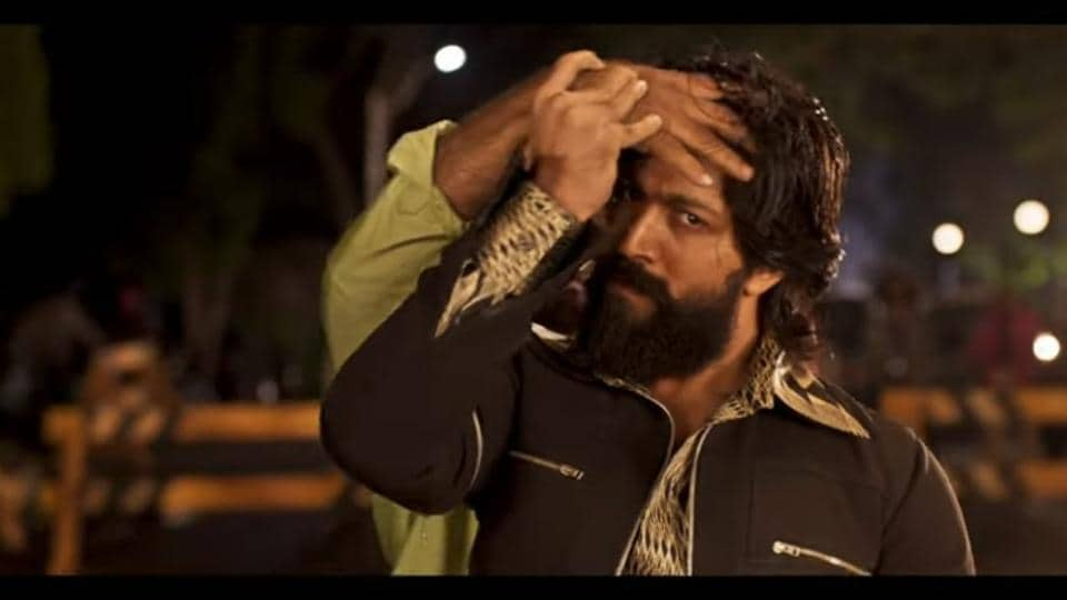 KGF second trailer: Actor Yash plays the lead role in this film directed by Prashanth Neel.