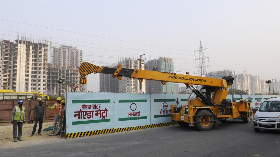 The Noida-Greater Noida Metro Link project got a push with thousands shifting to residential societies that have come up in Greater Noida. Officials said at least 20,000 families are currently residing in the area.