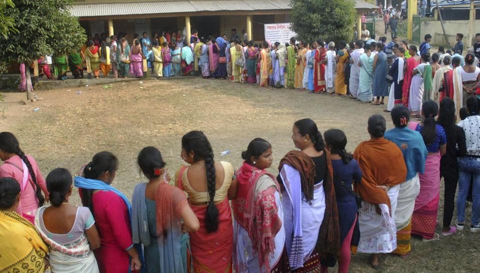 police firing,panchayat poll,Assam
