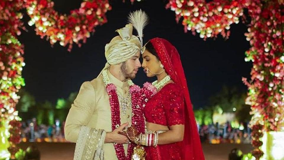 Priyanka Chopra and Nick Jonas had shared some pictures from their wedding ceremonies on Instagram. (Priyanka Chopra/Instagram)