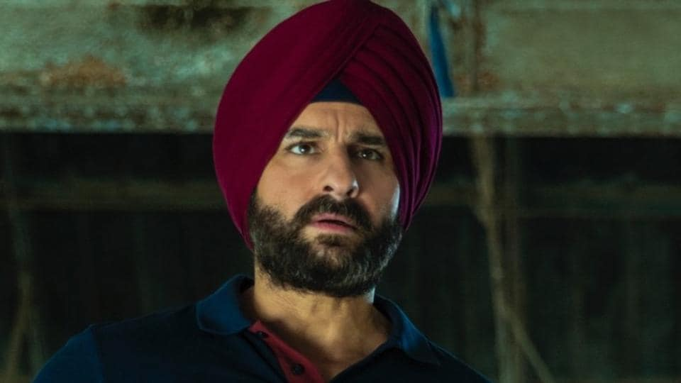 Saif Ali Khan as Sartaj Singh in a still from Netflix's Sacred Games.