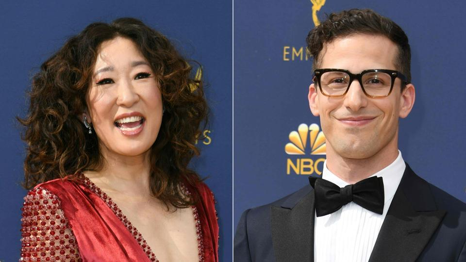 Andy Samberg,Sandra Oh,Hollywood Foreign Press Association