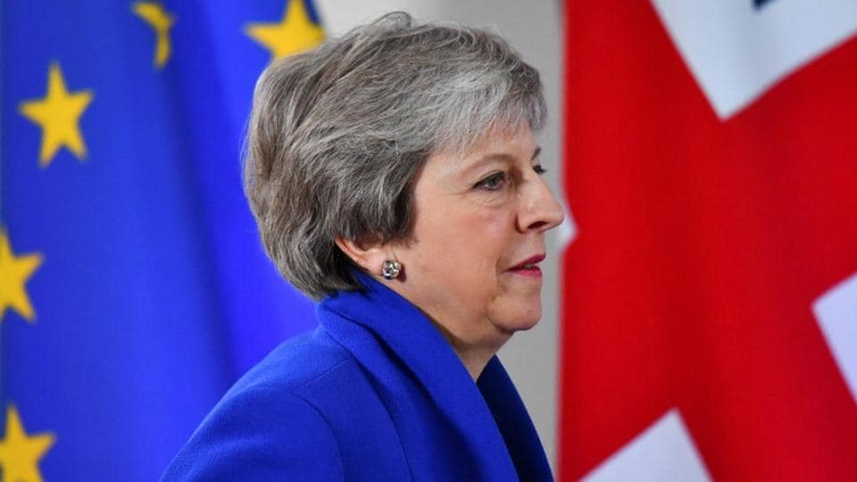 Britain's Prime Minister Theresa May said some in parliament were trying to frustrate Brexit and that she did not think another referendum on Brexit was the right course.
