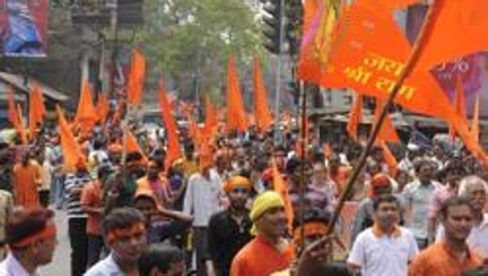 VHP,VHP procession,VHP rally in JNU campus
