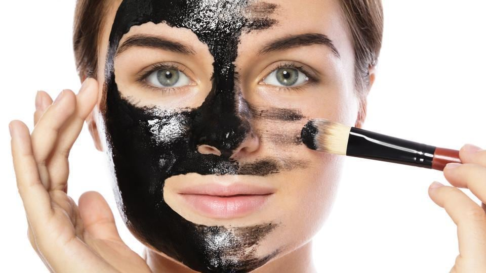 Active charcoal deeply cleanses the skin by absorbing deep-rooted impurities and toxins from the polluted environment. (Shutterstock)