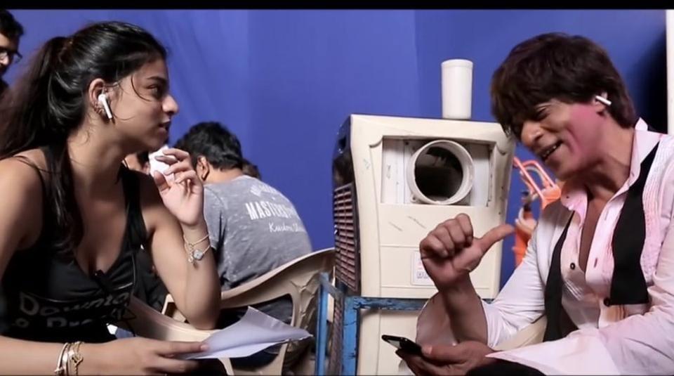 Shah Rukh Khan,Suhana Khan,Mere Naam Tu
