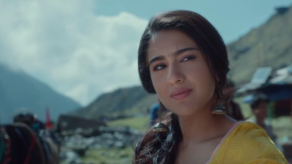 Kedarnath movie review: Sara Ali Khan and Sushant Singh Rajput star in a wet weepie.