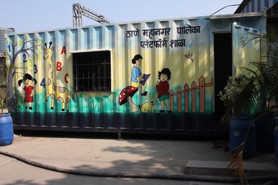 Mumbra,platform,school