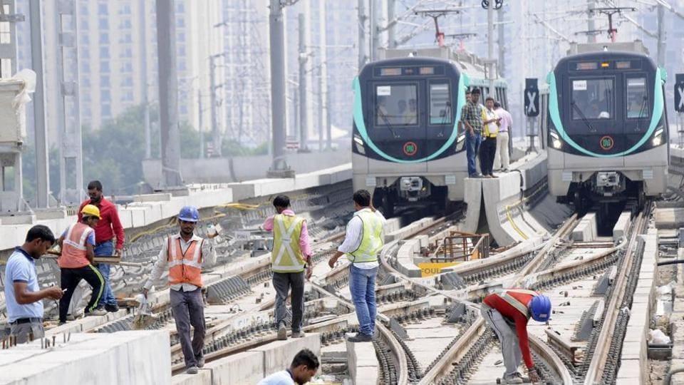 noida-greater noida metro link,Aqua Line,NMRC
