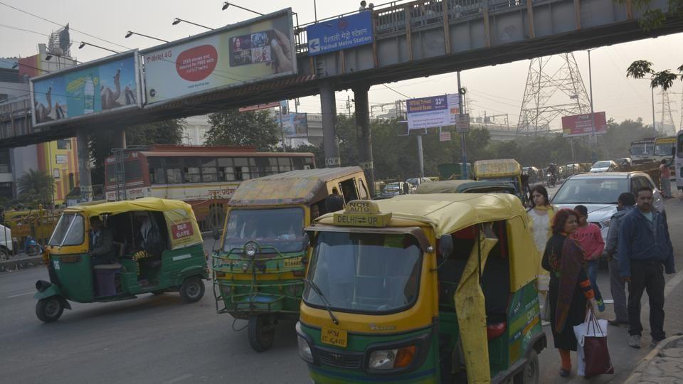vaishali metro station,DMRC,GDA